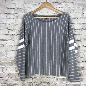 Banana republic striped oversized sweater
